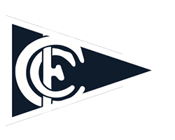 Carlton Blues Women team flag
